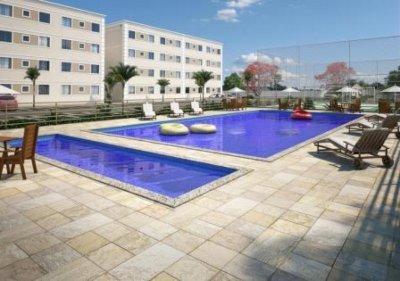 Apartamento à venda,  com 2 quartos no Ponte Nova em Várzea Grande MT 101 10791