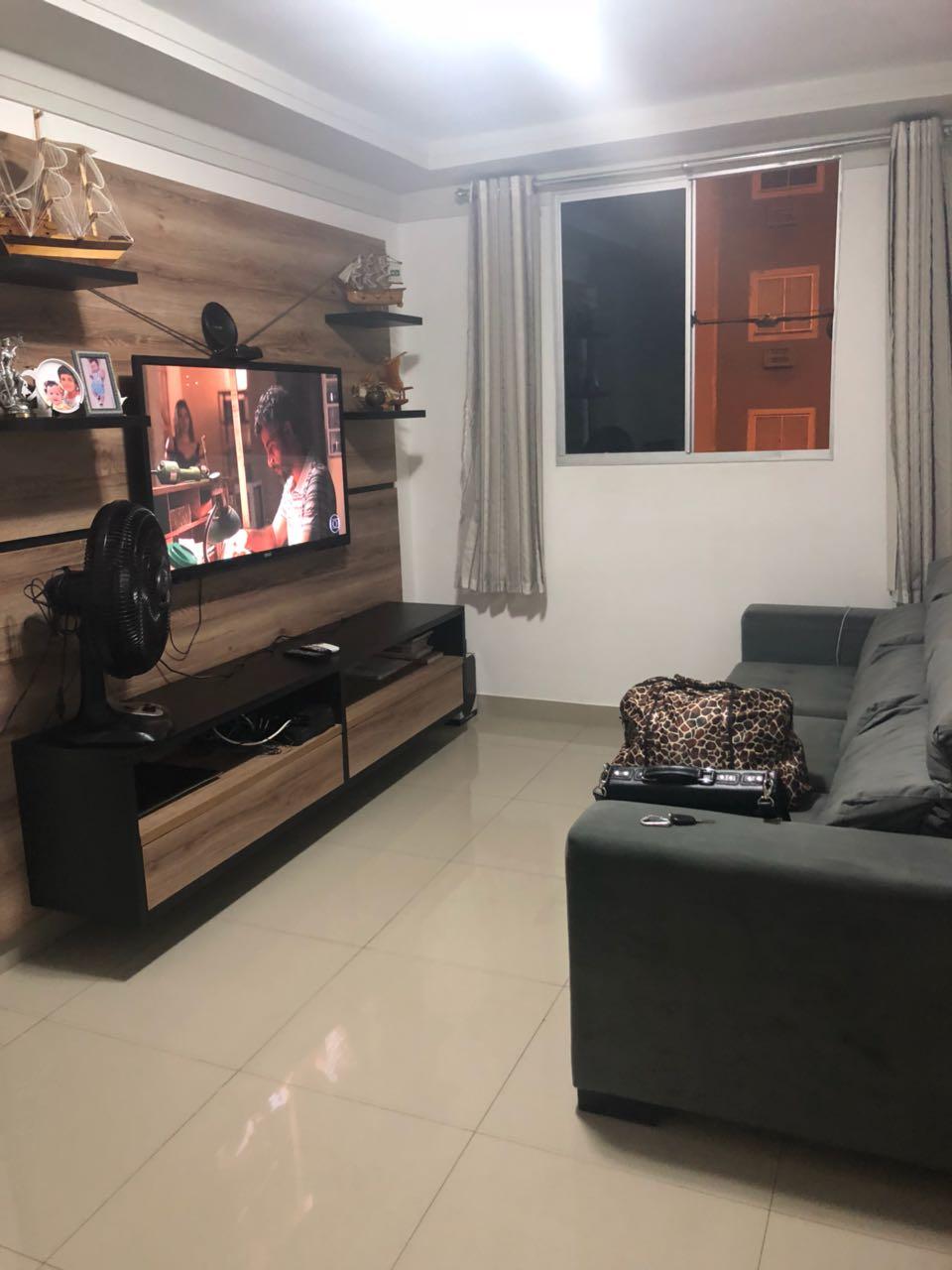Apartamento para aluguel,  com 2 quartos no CARAMBÉ  em Cuiabá MT 101 11565