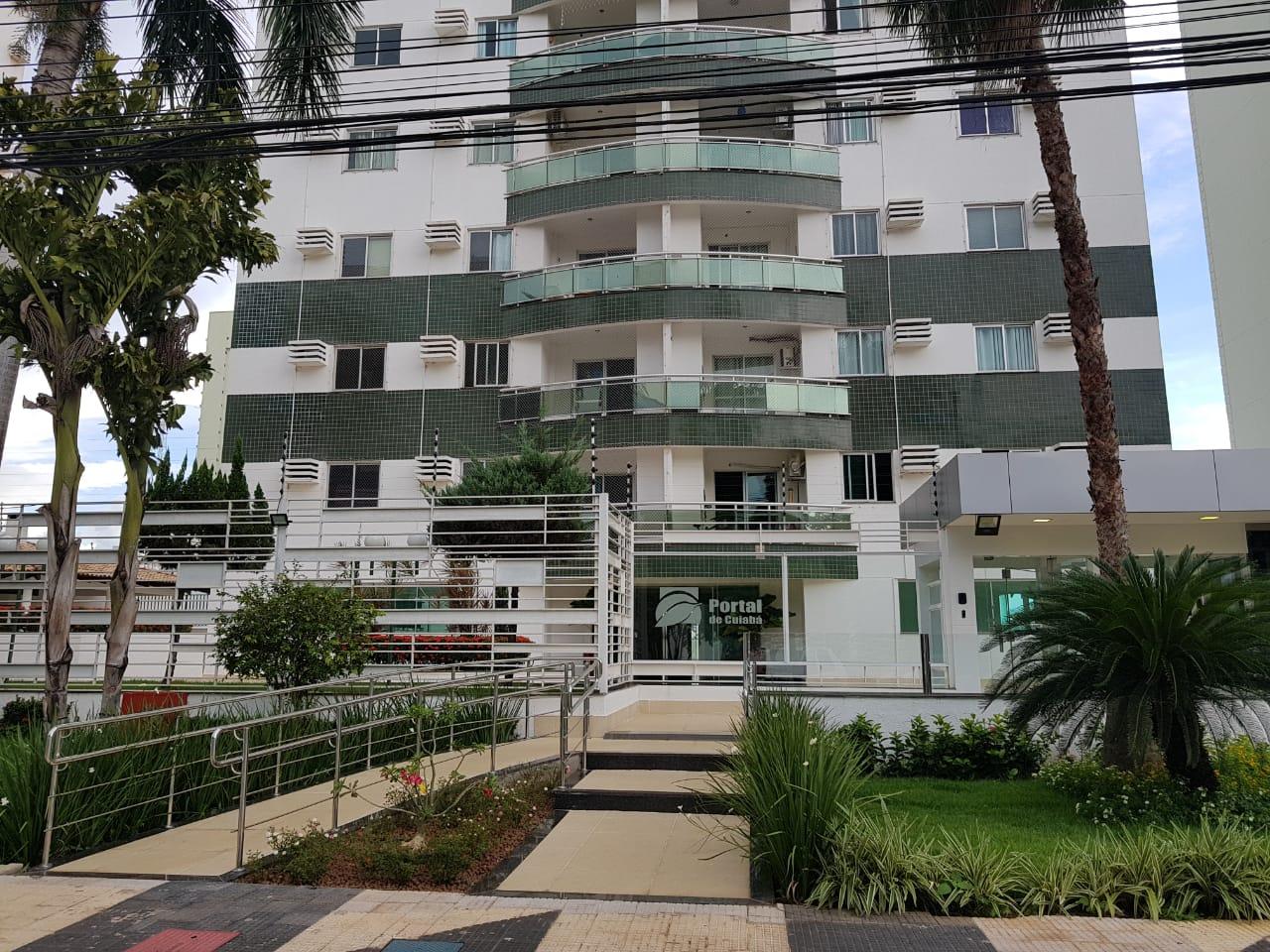 Apartamento à venda,  com 3 quartos sendo 1 suite no Alvorada em Cuiabá MT 101 11958