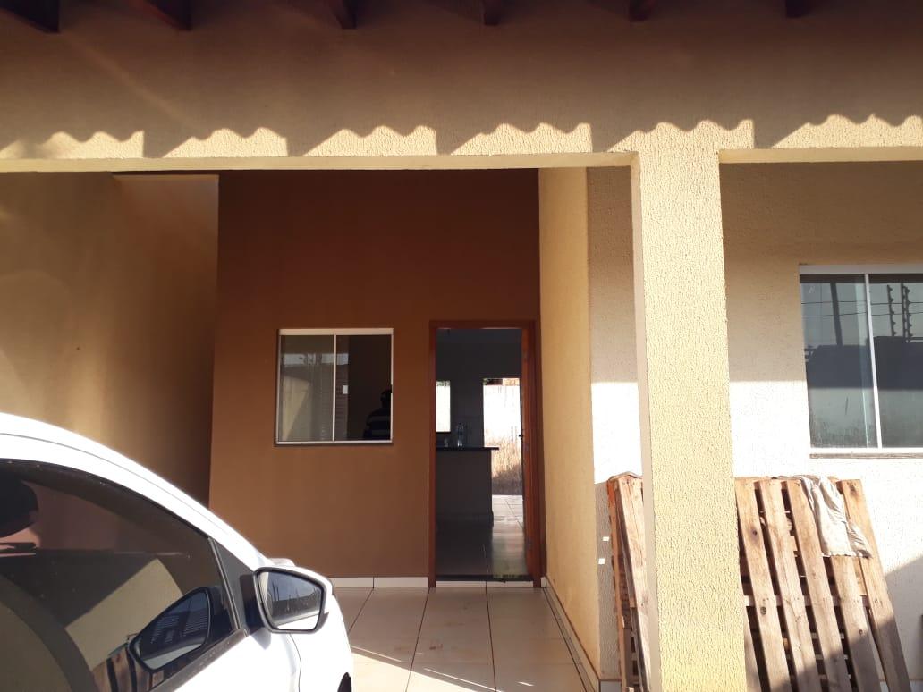 Casa à venda,  com 2 quartos sendo 1 suite no Canelas em Várzea Grande MT 101 12135