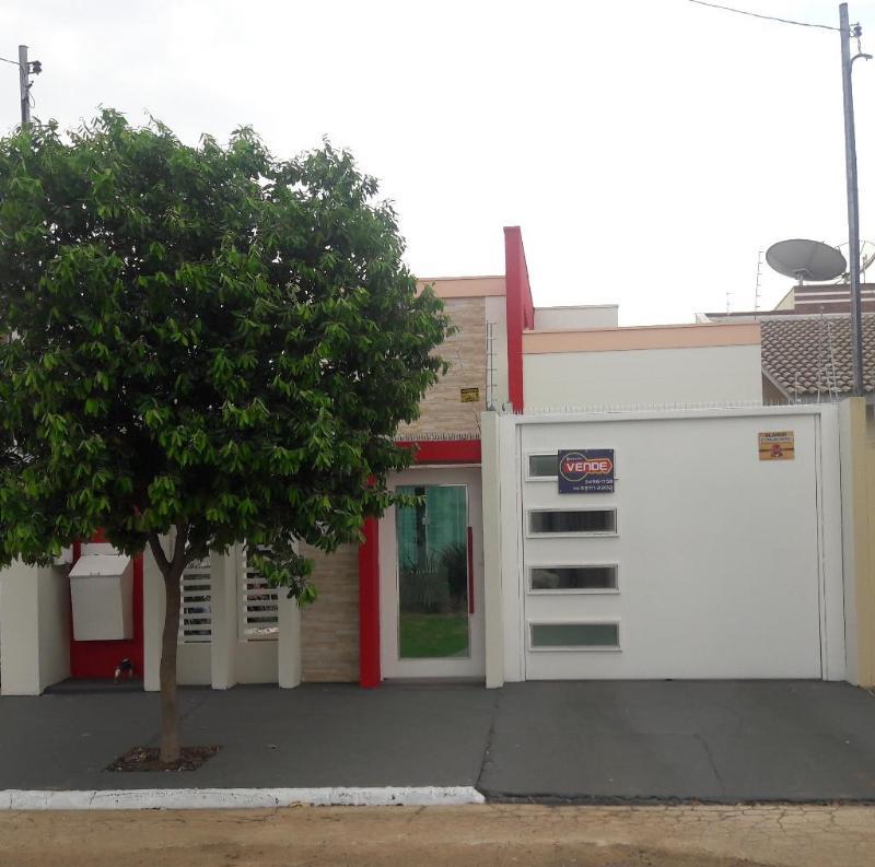 Casa  com 2 quartos sendo 1 Suíte no Jardim Luciana II, Primavera do Leste  - MT