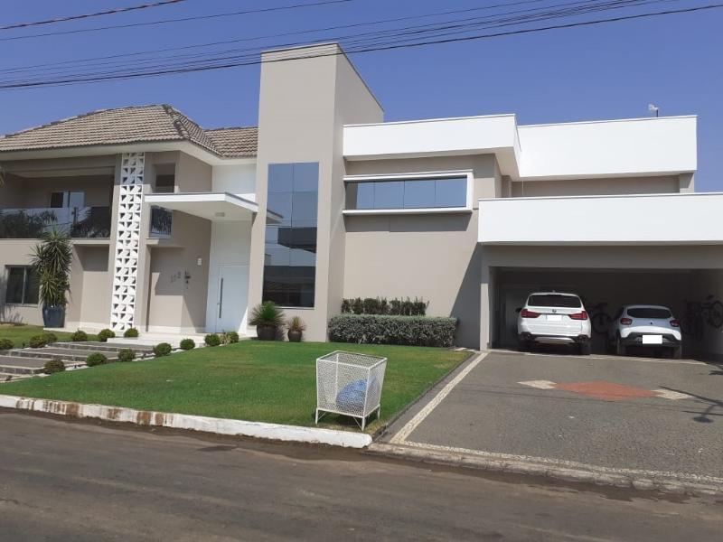 Casa  com 5 quartos sendo 5 Suítes no Condominio Cidade Jardim, Primavera do Leste  - MT