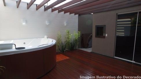 Casa Cond. Fechado  no Morada do Ouro , Cuiabá  - MT