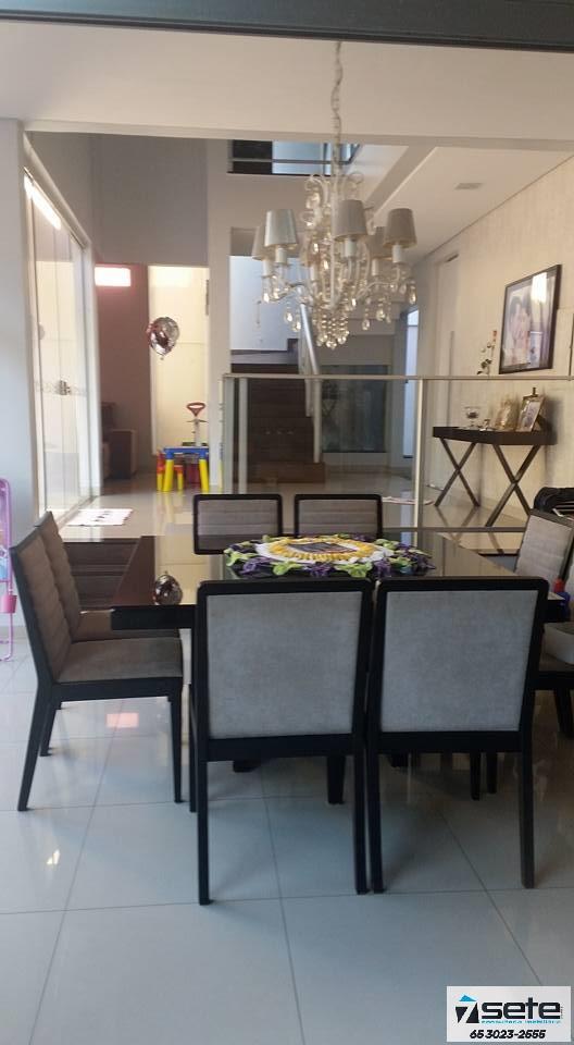 Casa Cond. Fechado  com 3 quartos sendo 3 Suítes no Jardim Imperial, Cuiabá  - MT