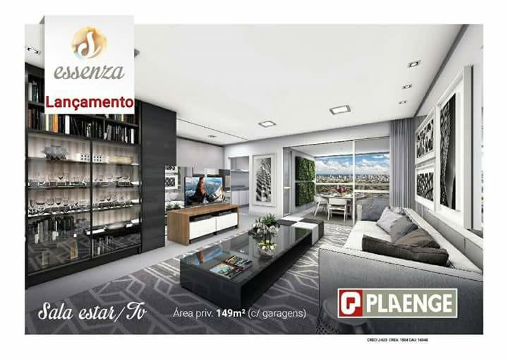 Apartamento  com 3 quartos sendo 1 Suíte no Pico do Amor, Cuiabá  - MT