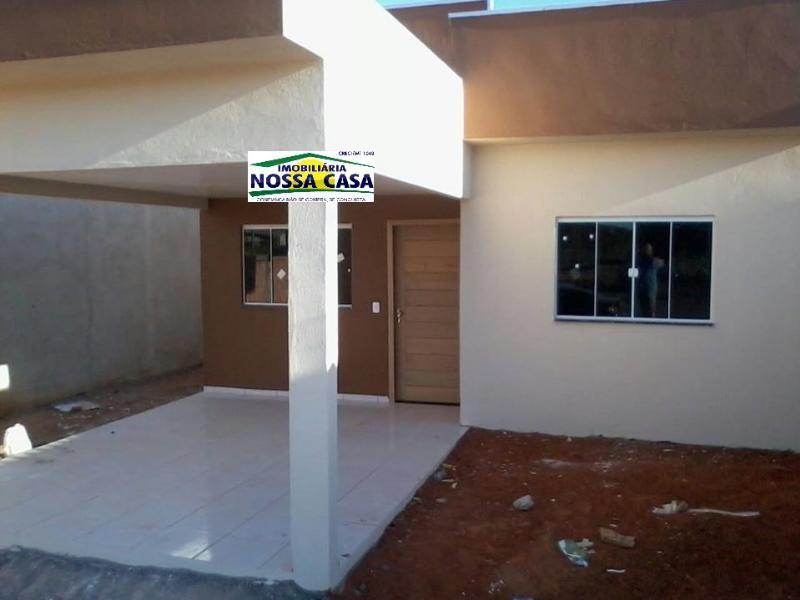 Casa  com 2 quartos sendo 1 Suíte no Loteamento Amazonia ll, Lucas do Rio Verde  - MT