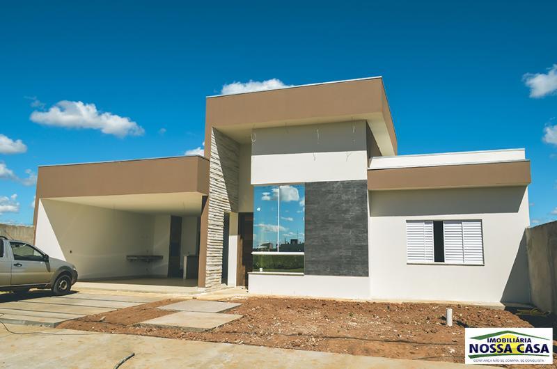 Casa  com 2 quartos sendo 1 Suíte no Parque das Emas II, Lucas do Rio Verde  - MT