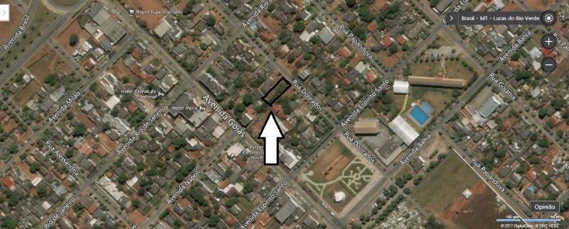 Terreno  no Jardim das Palmeiras, Lucas do Rio Verde  - MT
