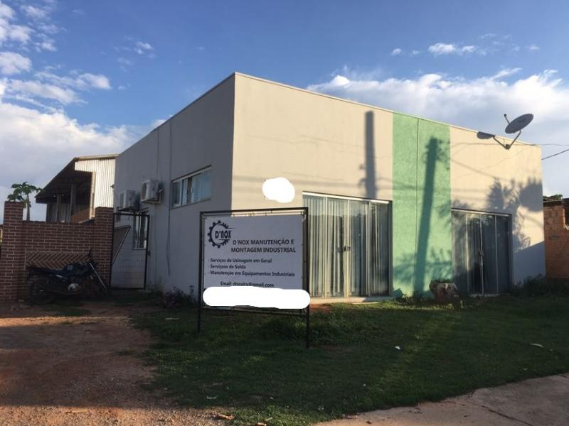 Barracão  no Industrial, Lucas do Rio Verde  - MT